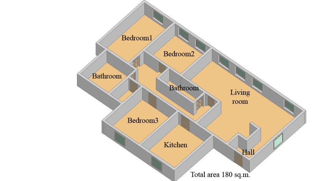 Layout: Rent Elite Flat, Subway Pushkinskaja