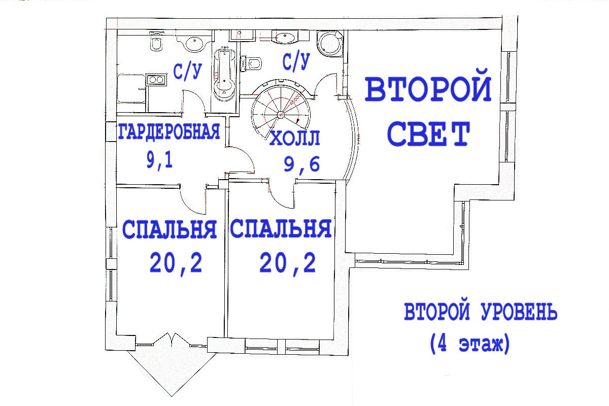 Layout: Sale Elite Flat, Subway Kuncevskaja