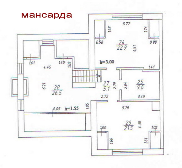 Layout: Sale Elite Townhouse, Subway Mitino
