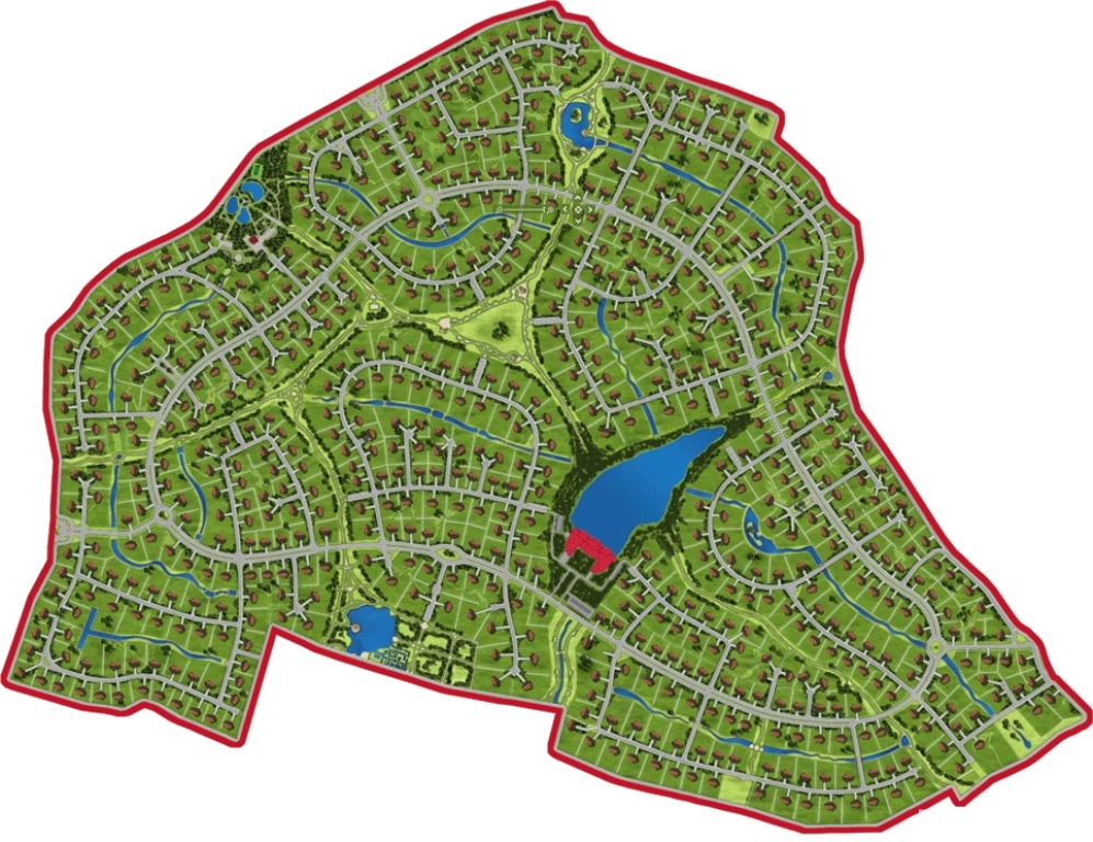 Layout: Sale Elite Land Plot, Millennium Park