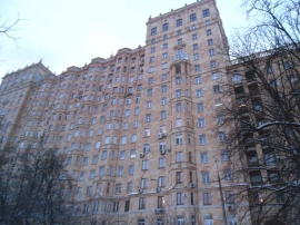 Rent: Elite apartment, Frunzenskaya Embkt, House 50