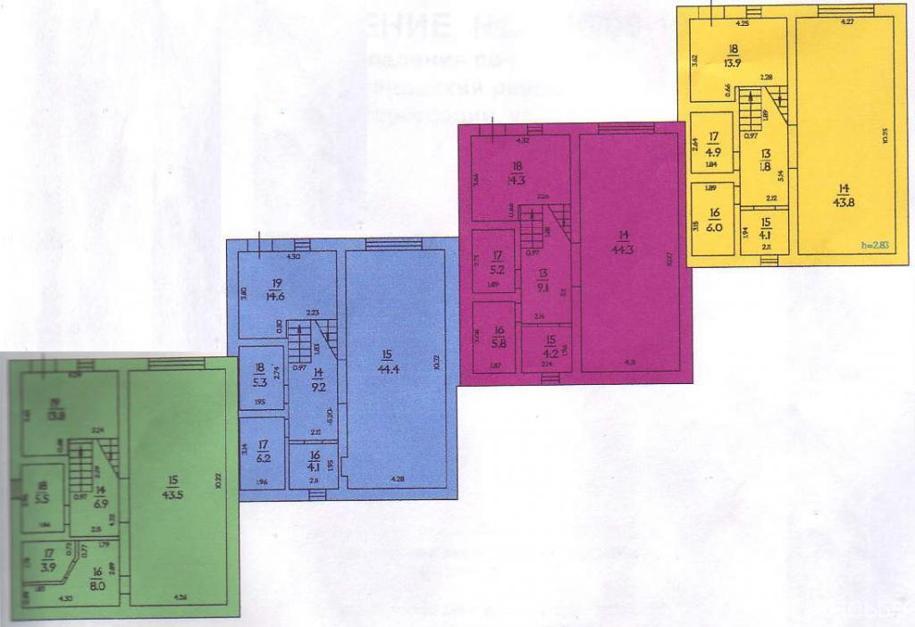 Layout: Sale Elite Townhouse, Nemchinovka