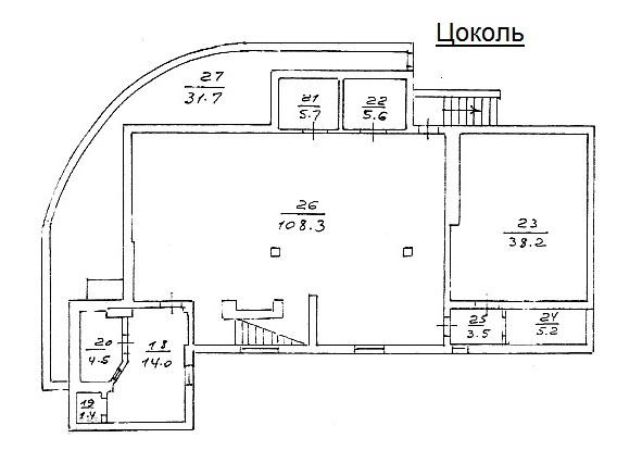 Layout: Sale Elite House, Troickoe